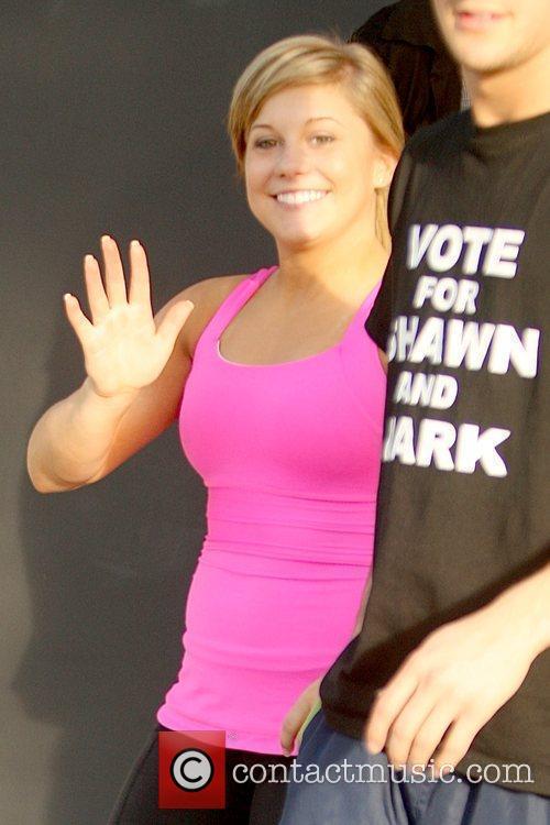 Shawn Johnson, Abc and Dancing With The Stars 2
