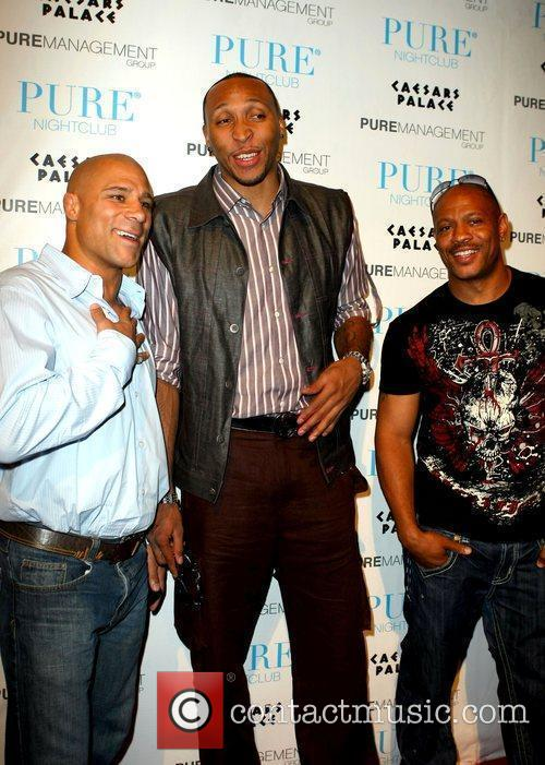 Frank Trigg, Shawn Marion and Maurice Greene Shawn...