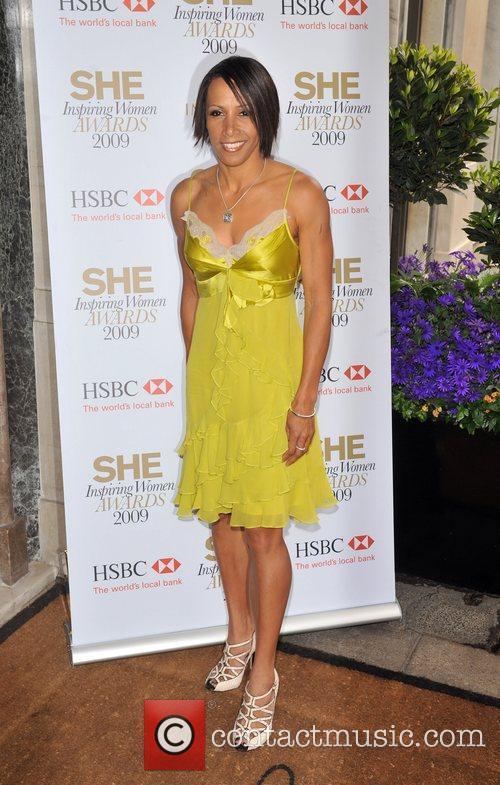 Dame Kelly Holmes SHE Inspiring Women Awards held...