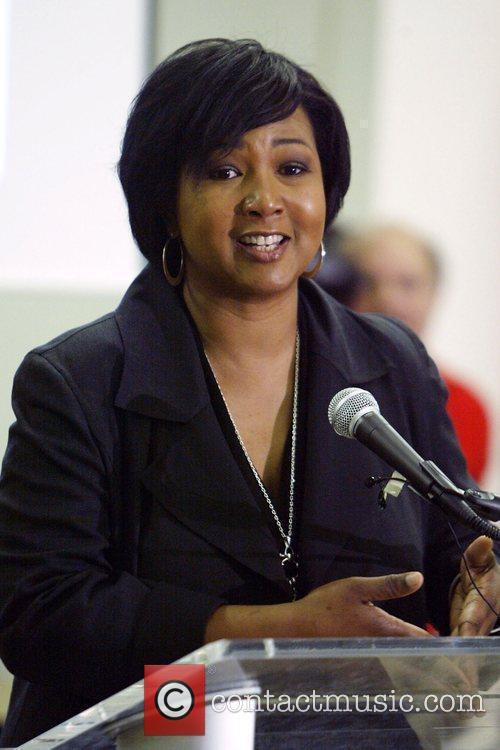 African American physician and NASA astronaut Mae Jemison...