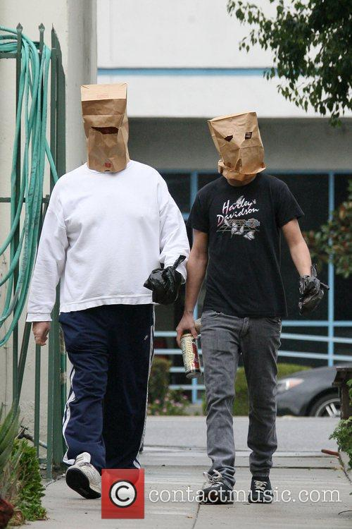 Shia LaBeouf tries to hide his identity by...