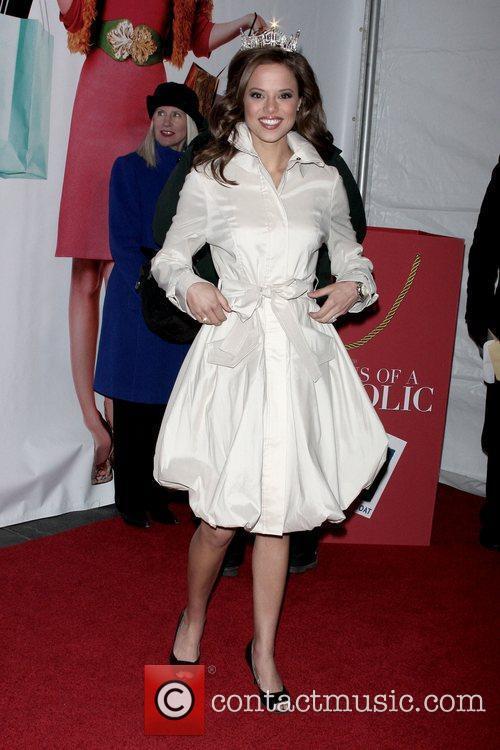 Miss America Katie Stam, Ziegfeld Theatre