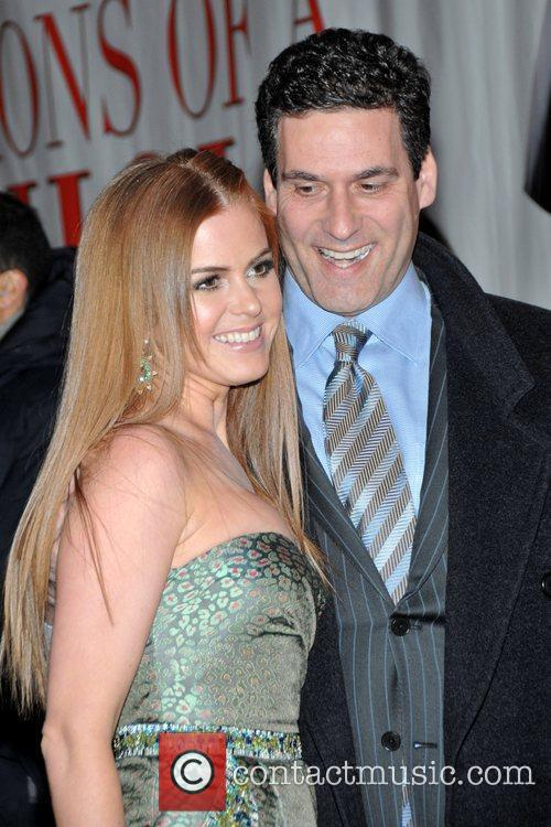 Isla Fisher and Guest New York Premiere of...