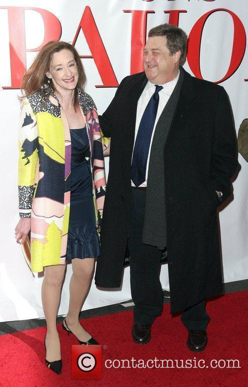 Joan Cusack and guest New York Premiere of...