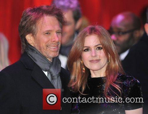 Jerry Bruckheimer and Isla Fisher 2