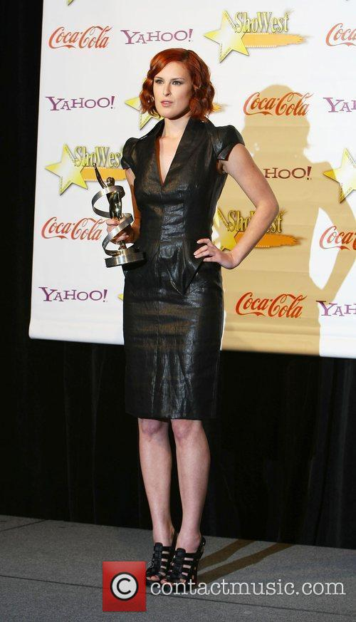 ShoWest Awards Gala held at the Paris Hotel...