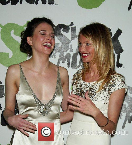 Sutton Foster, Cameron Diaz Afterparty for the new...