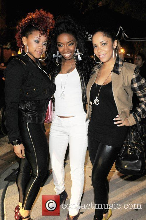 Cole Rose, Crystal and Skye of the pop...