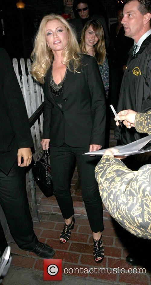 Gene Simmons and Shannon Tweed  leaving the...