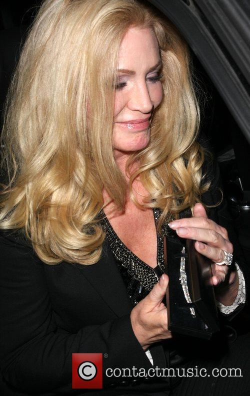 Shannon Tweed leaving the Ivy restaurant Los Angeles,...