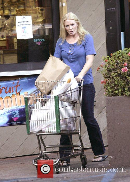 Leaving a grocery store in Bel-Air