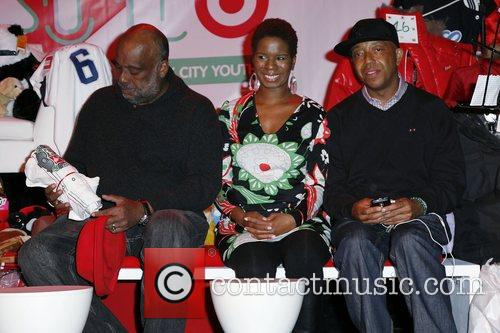 Danny Simmons, Russell Simmons and guest 9th Annual...