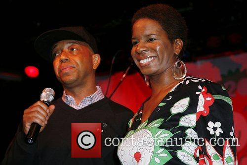 Russell Simmons and guest 9th Annual Youth Holiday...