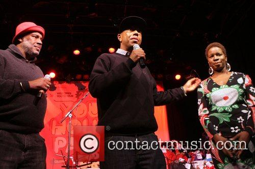 Danny Simmons, Russell Simmons and Tange Murray 9th...