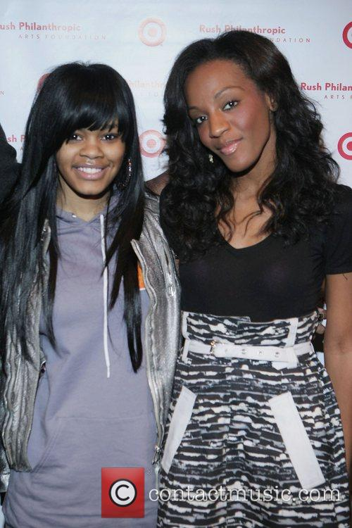 Teyana Taylor and Dawn Richard 9th Annual Youth...