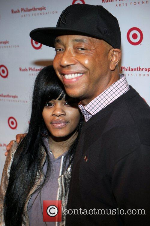 Teyana Taylor and Russell Simmons 7