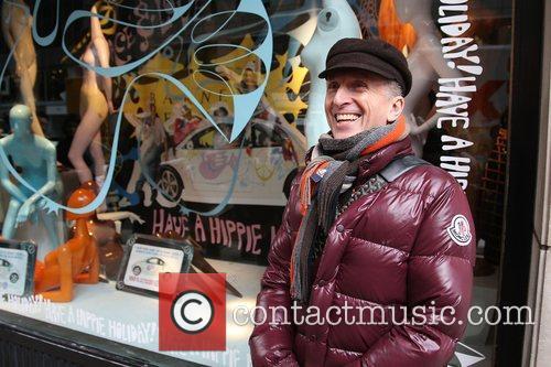 Barneys goes Hippie The window of New York...