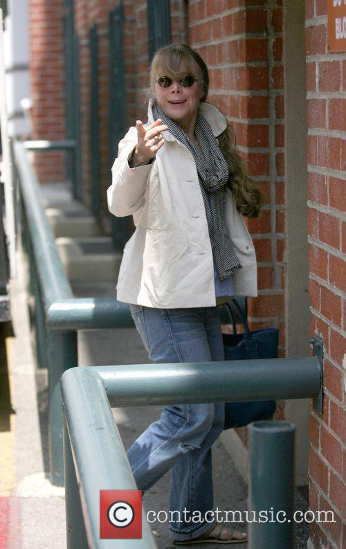 Sissy Spacek out and about with her daughter...