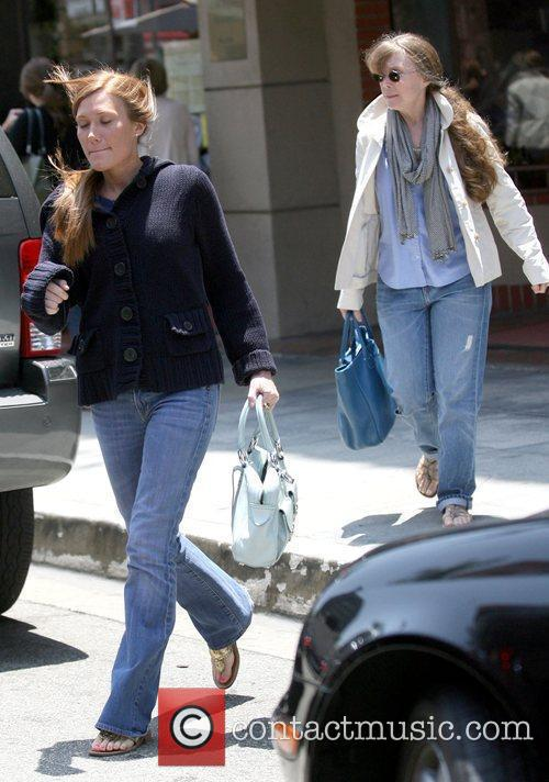 Out and about with her daughter in Beverly...