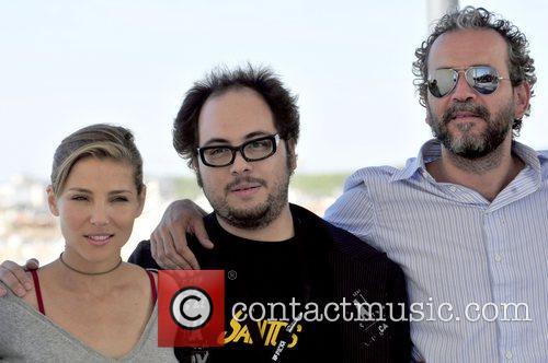 'Santos' director Nicoles Lopez with cast members Elsa...