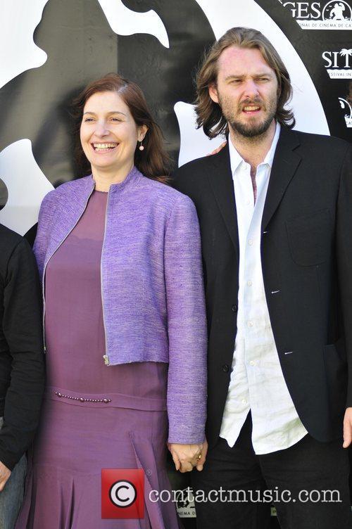 Assumpta Serna with her husband Scott Clevordon...