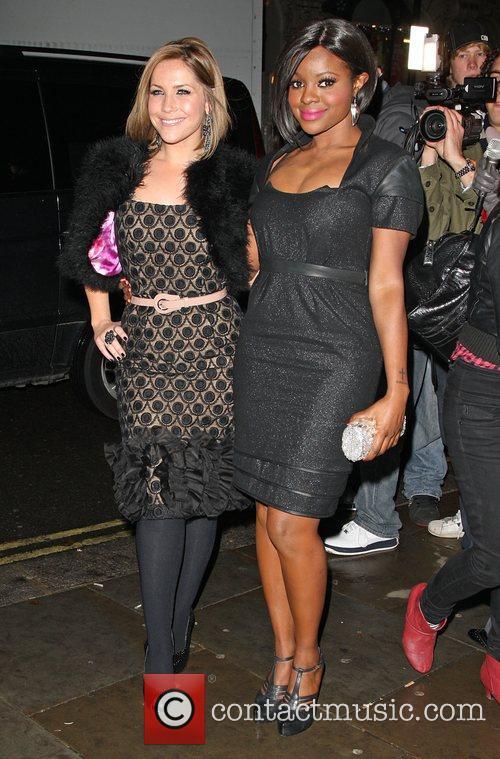 Heidi Range and Keisha Buchanan of the Sugababes...