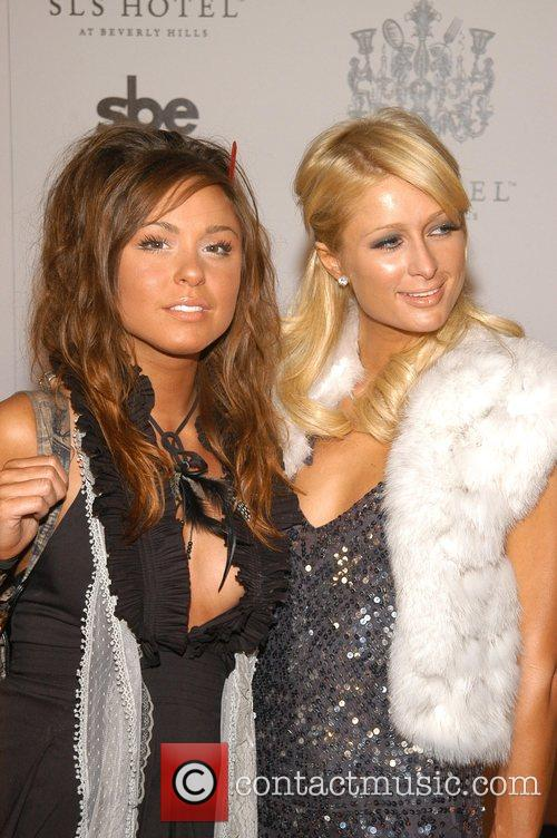 Brittany Flickinger and Paris Hilton The Grand Opening...