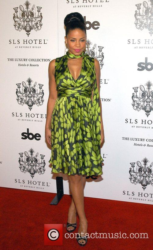 Sanaa Lathan The Grand Opening of the SLS...