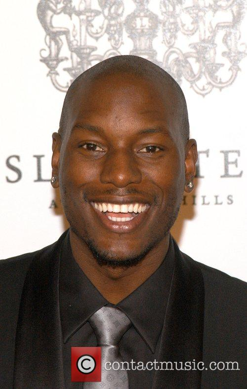 Tyrese Gibson The Grand Opening of the SLS...