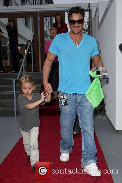 Peter Andre and Son Junior 2