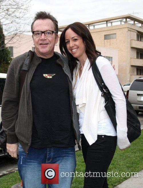Tom Arnold and A Female Companion 3