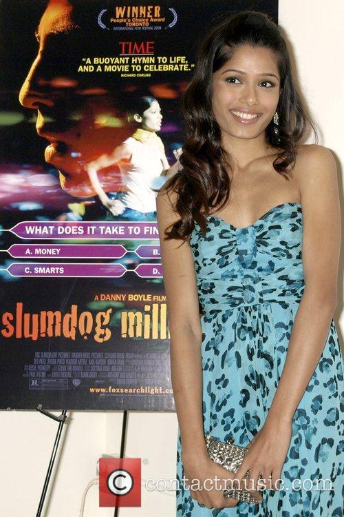 Freida Pinto screening of 'Slumdog Millionaire' at Tribeca...
