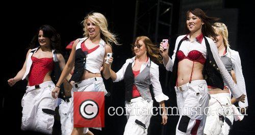 Courtney Galiano, Chelsie Hightower, Jessica King, Katee Shean...