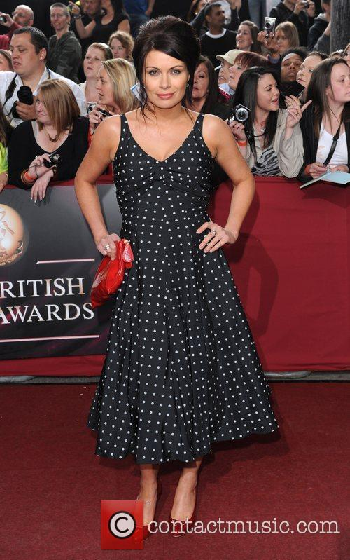 Alison King The British Soap Awards 2009 held...
