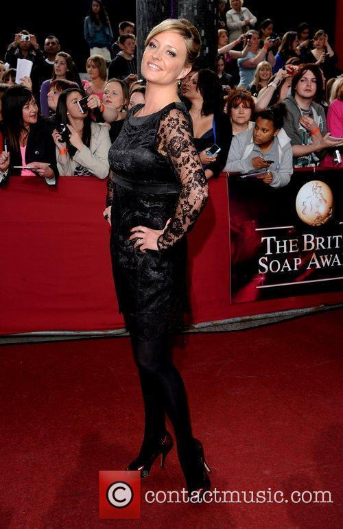 Laurie Brett The British Soap Awards 2009 held...
