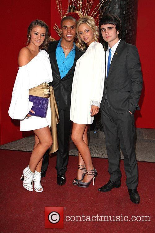 Brooke Vincent, Sacha Parkinson, Lucien Laviscount and Ben Thompson 5