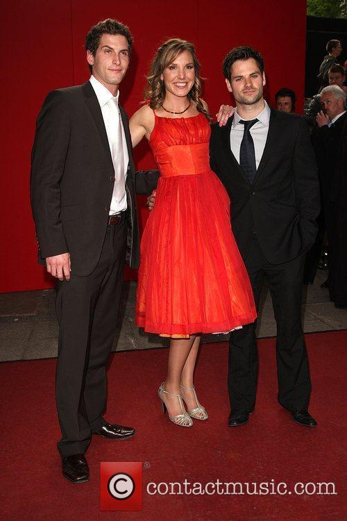 Elizabeth Bower and guests The British soap awards...