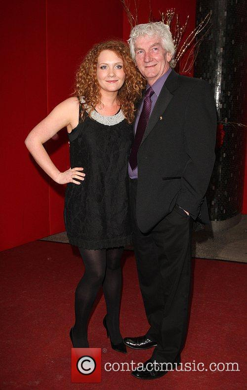 Jennie McAlpine and guest The British soap awards...