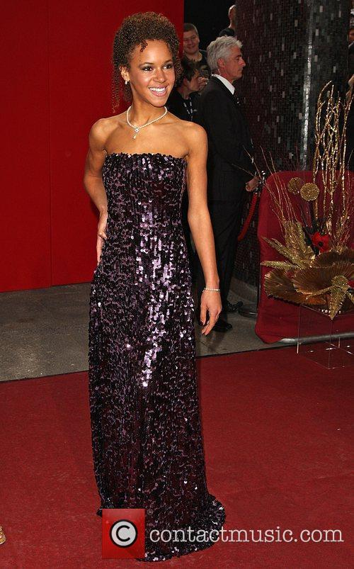 Dominique Jackson The British Soap Awards 2009 held...