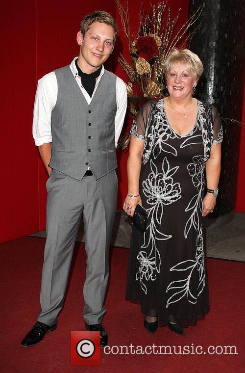 James Sutton with his mother The British soap...