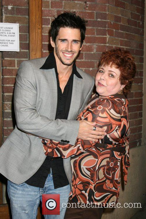 Brandon Beemer and Patrika Darbo Soaps in the...