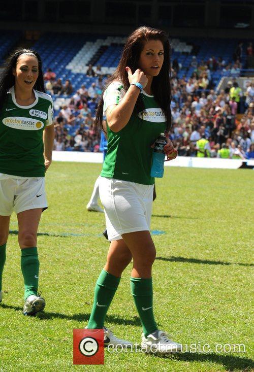 Bianca Gascoigne,  'Soccer Six' annual charity football...