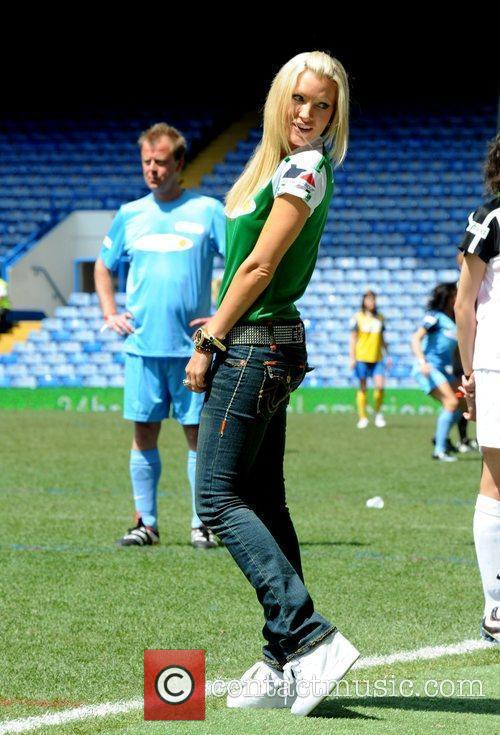 Caprice,  'Soccer Six' annual charity football tournament...