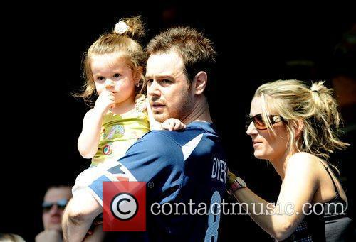 Danny Dyer, His Partner and Daughter 6