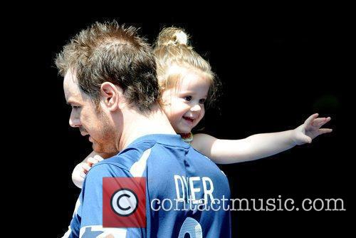 Danny Dyer and his daughter,  'Soccer Six'...