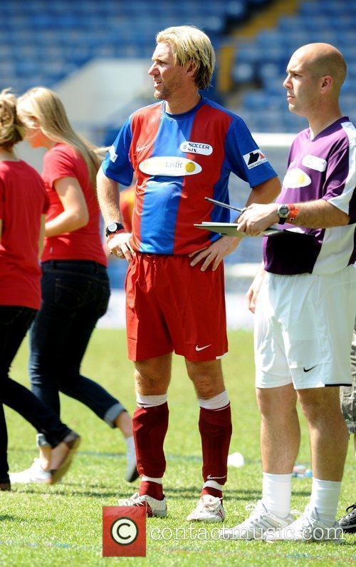 Simon Jordan, owner of Crystal Palace Football Club,...
