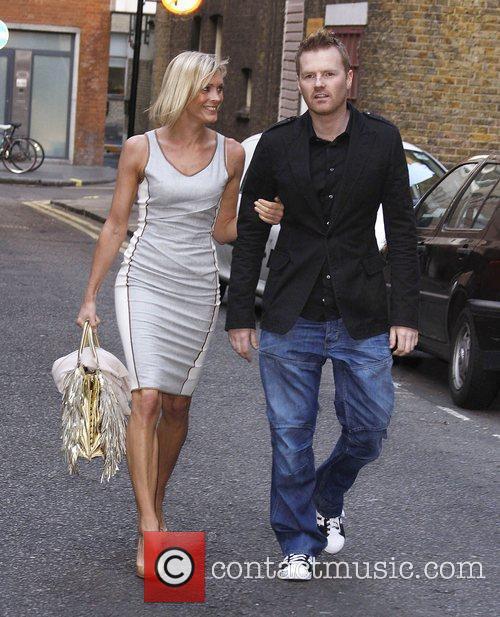 Jenni Falconer and James Midgley 2
