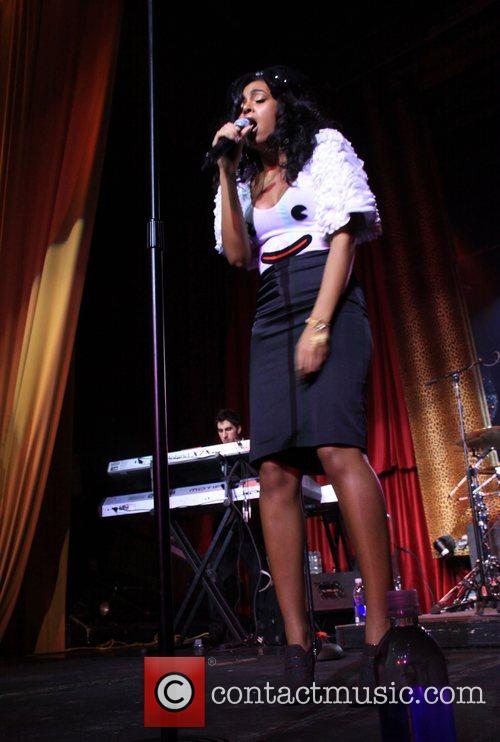 Solange Knowles  performs at the 4th Annual...