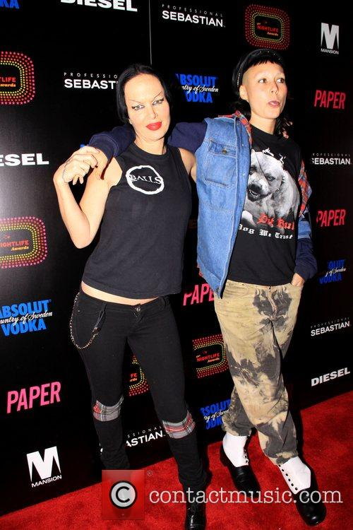 Kembra Pfahler and Bianca Casady 4th Annual Paper...