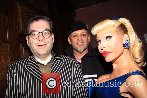 Michael Musto, Danilo and Amanda Lepore  4th...